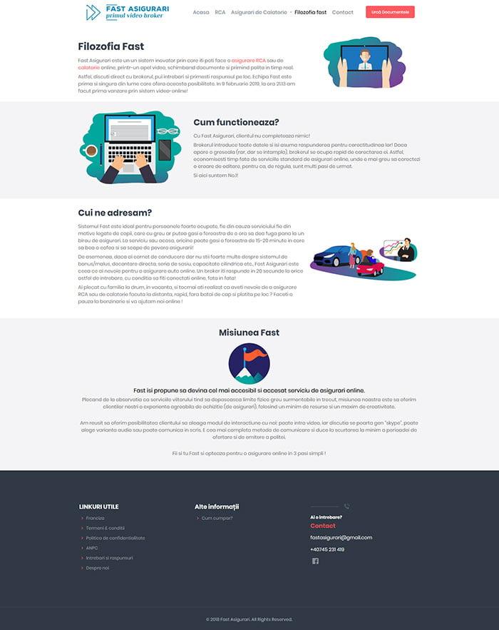 Refacere Web Site